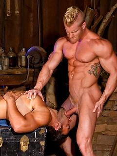 Muscled Gay Pornstars Porn Pics